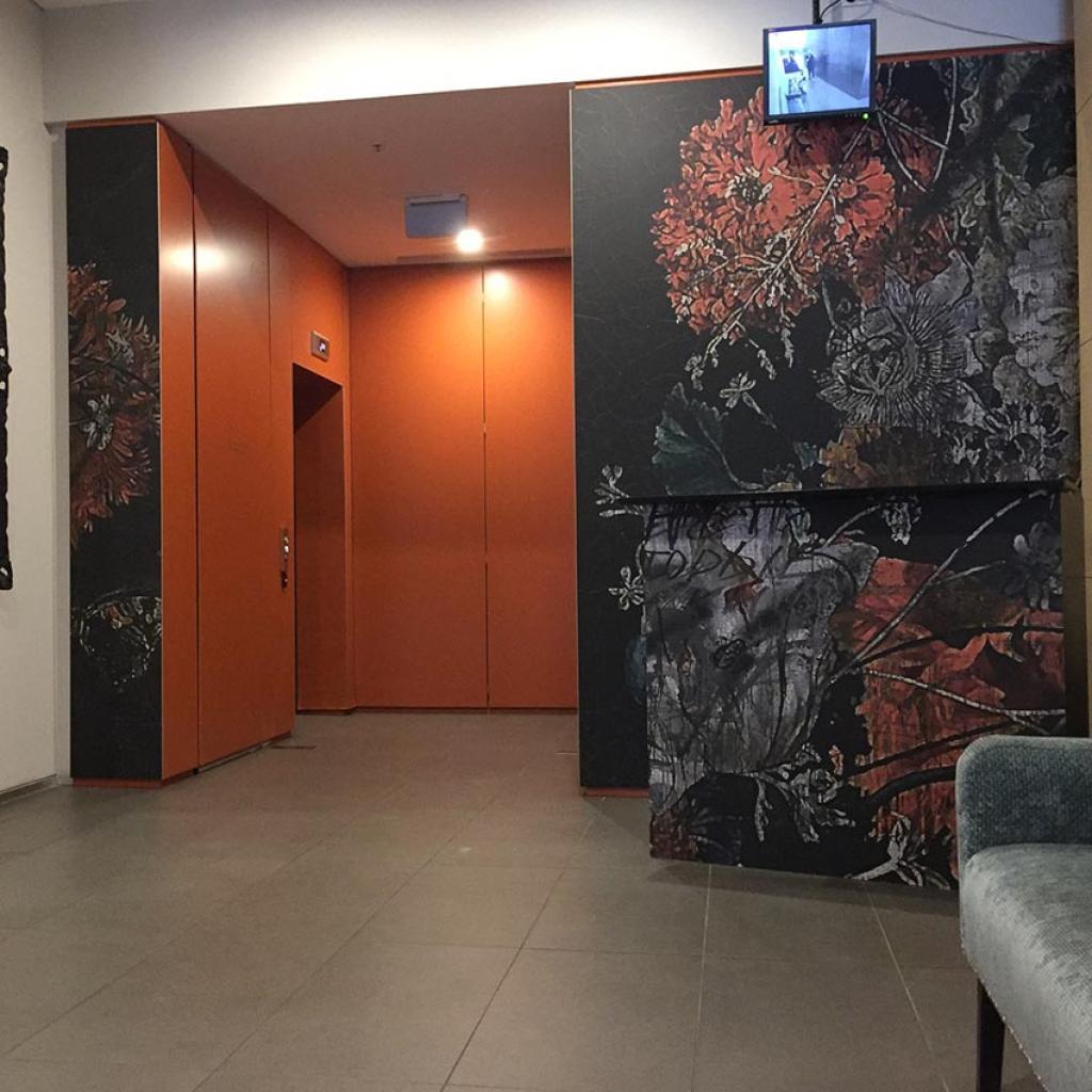Residential Lobby Wallpaper