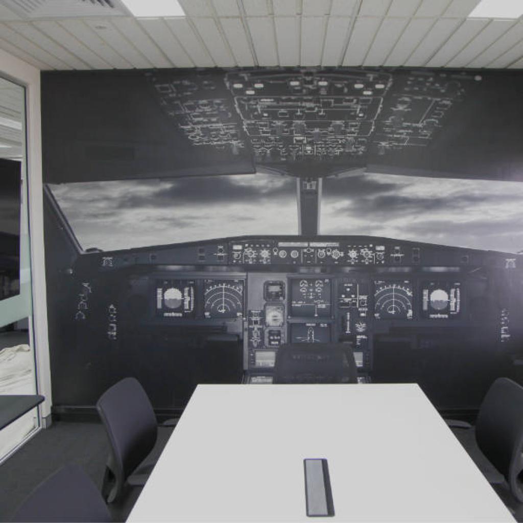 Office Boardroom Wallpaper Mural Cockpit