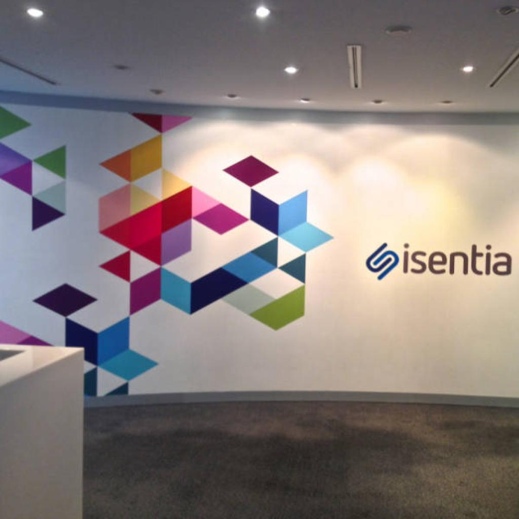 office lobby wallpaper isentia