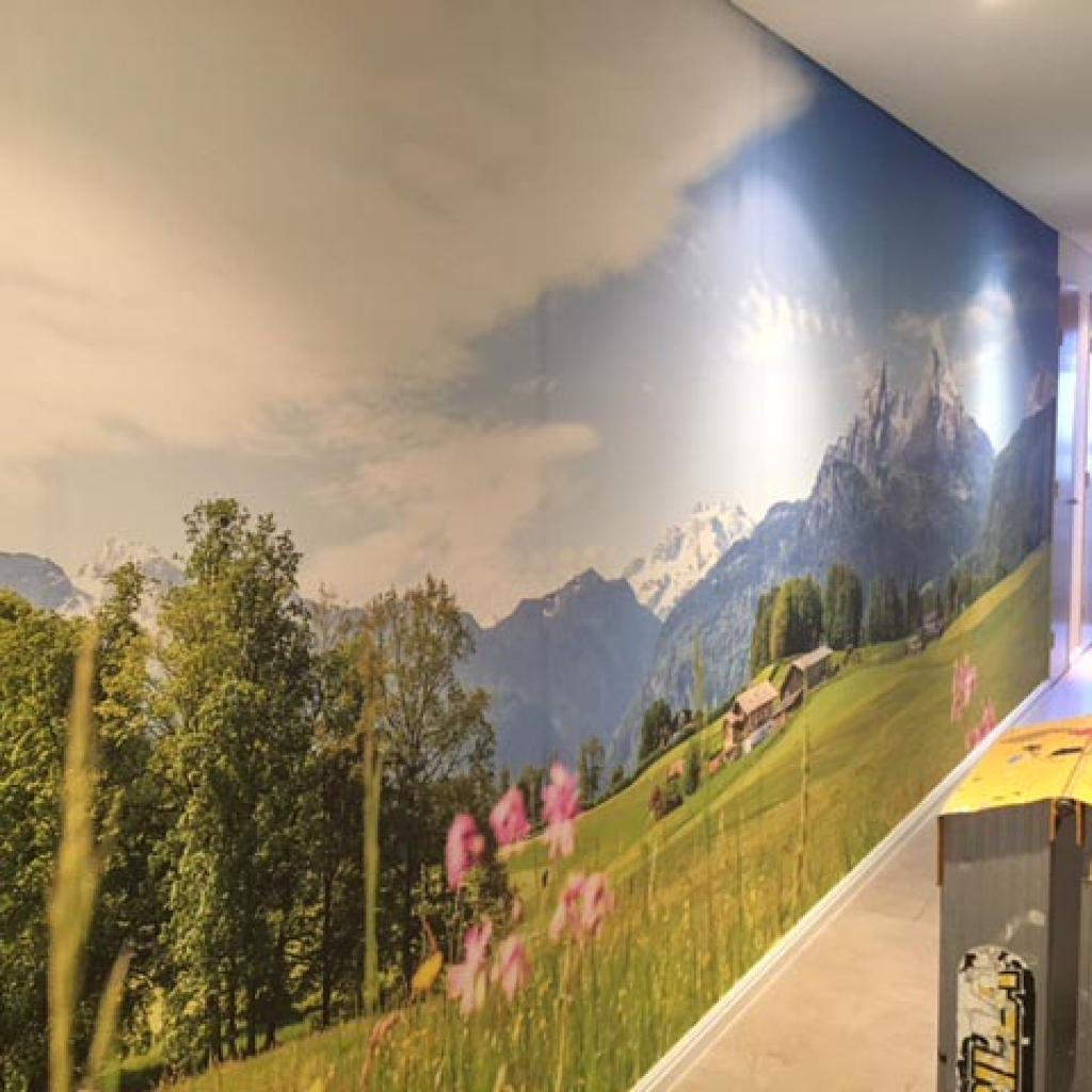 Residential Corridor Wallpaper