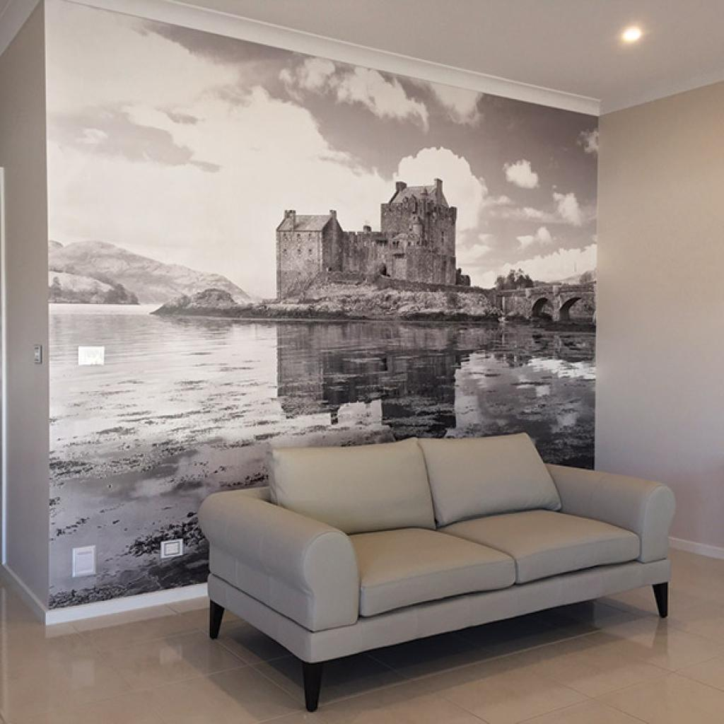 Scotland Castle Wallpaper Mural