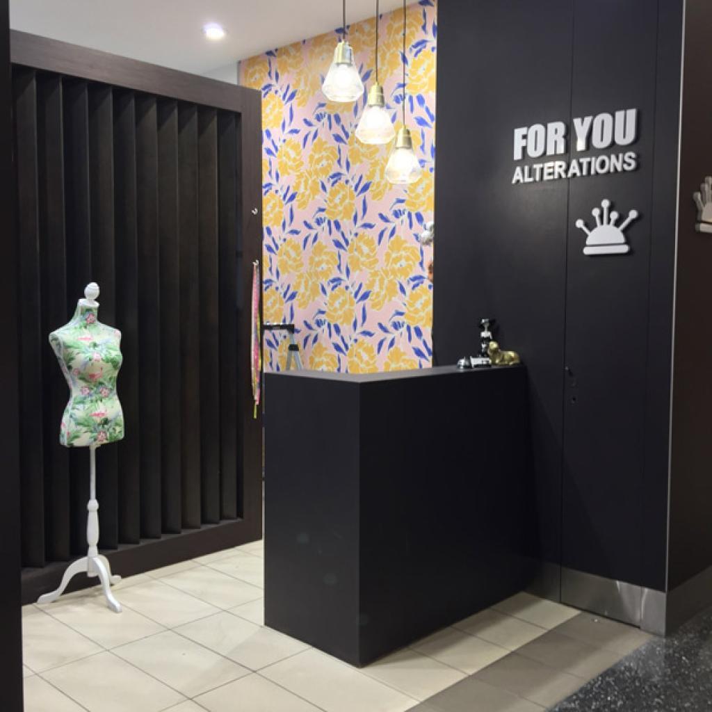 Retail Alteration Wallpaper