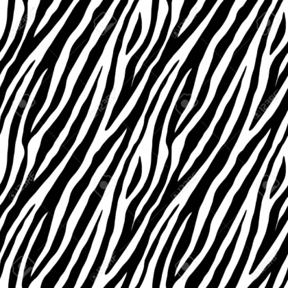 Zebra skin repeated seamless pattern