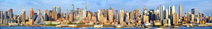 Manhattan Midtown skyline panorama, New York City