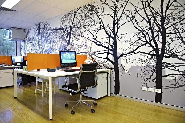 Custom Printed Recruitment Office Wallpaper Mural
